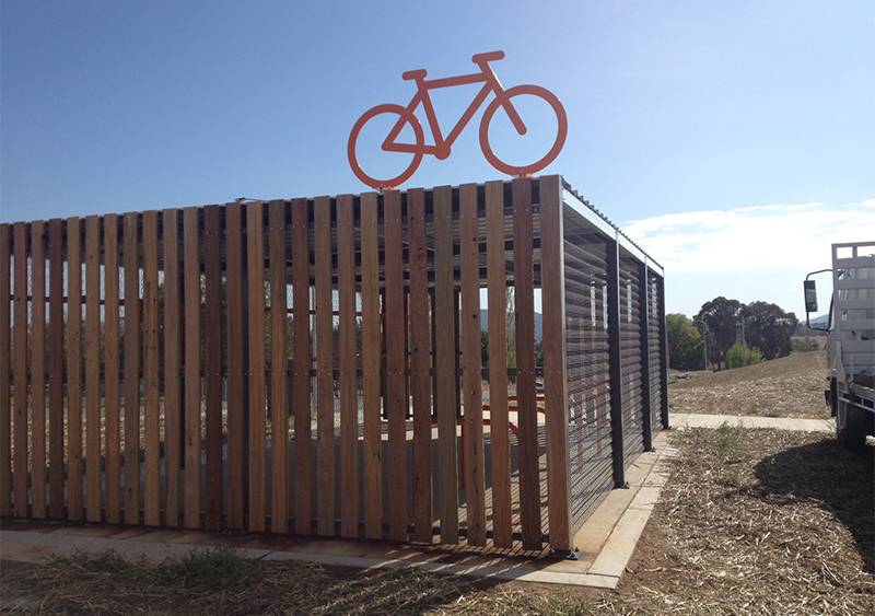 cotter road bike shed